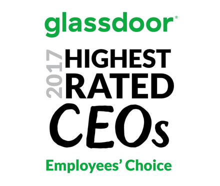 2017 Glassdoor Highest Rated CEO