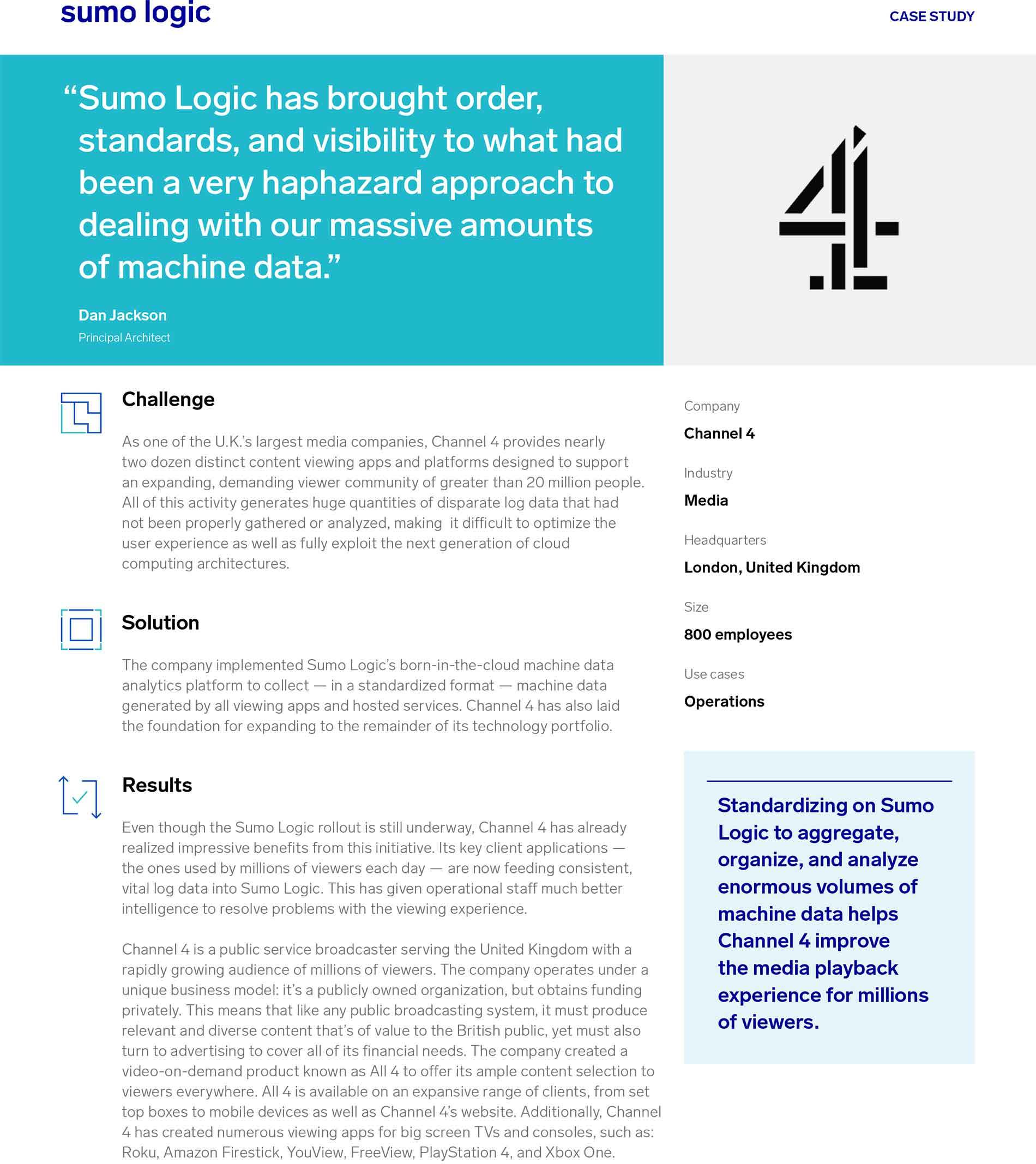 Channel 4 Case Study