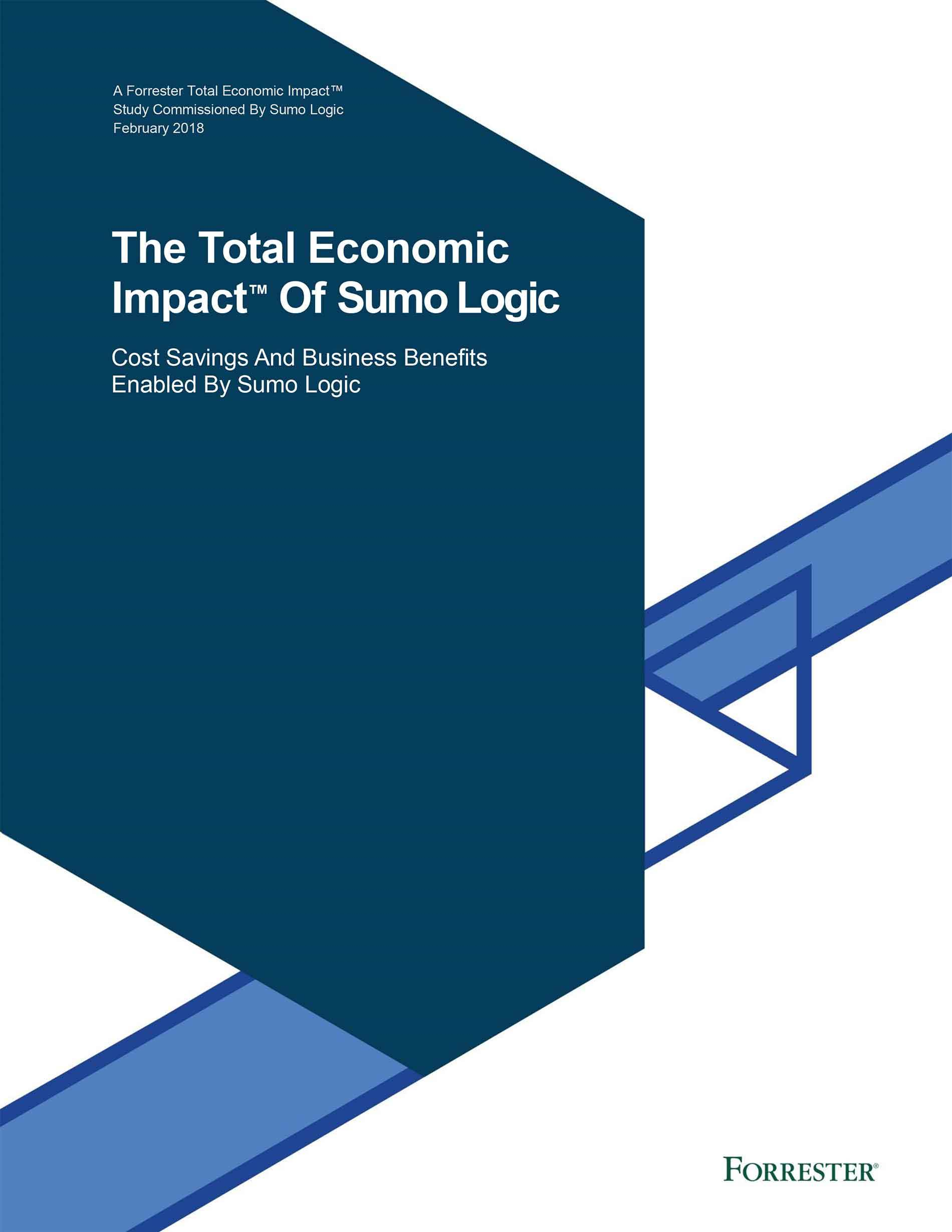 Forrester Total Economic Impact of Sumo Logic