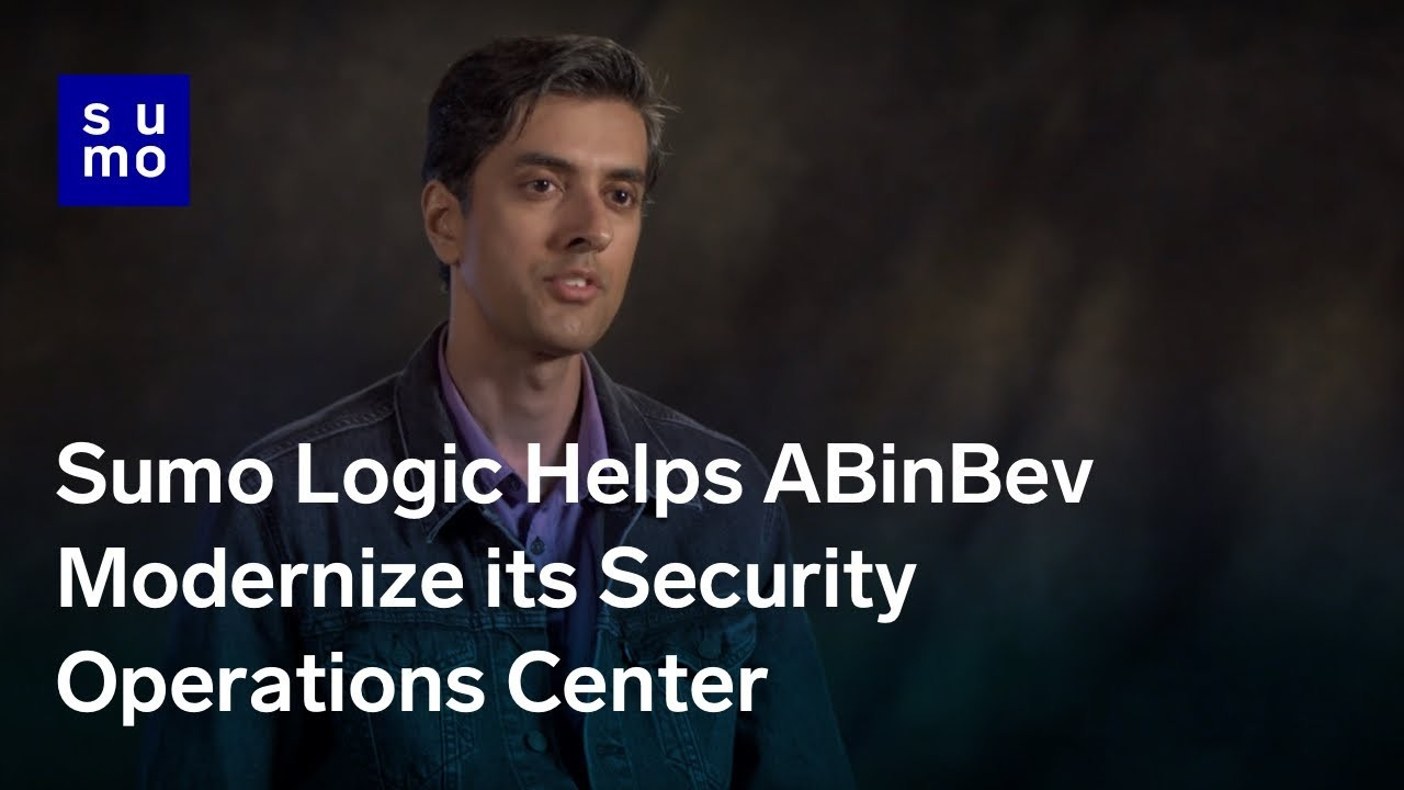 Sumo Logic Helps ABinBev Modernize its Security Operations Center