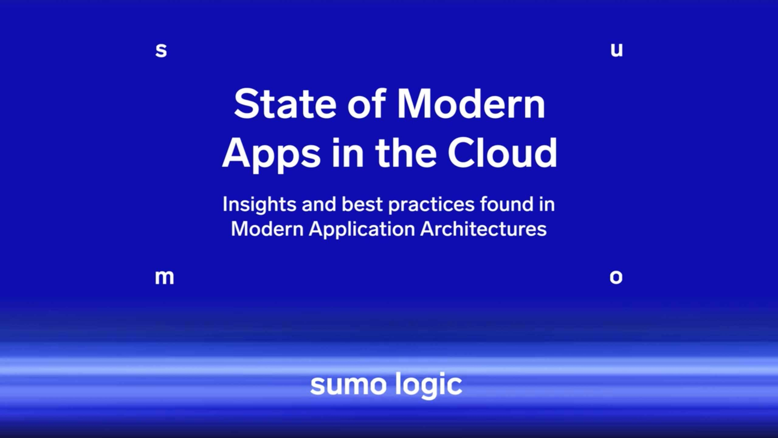 State of Modern Applications 2018