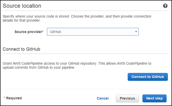 AWS CodePipeline - How to Create a Workflow | Sumo Logic