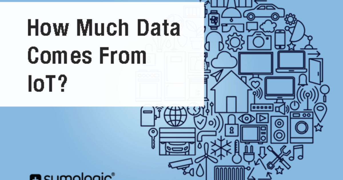 How Much Data Comes From The Internet Of Things? | Sumo Logic